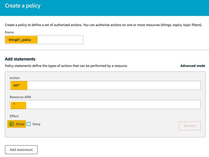 Streaming Sensor Data (Raspberry Pi) to AWS IoT – Calvin's